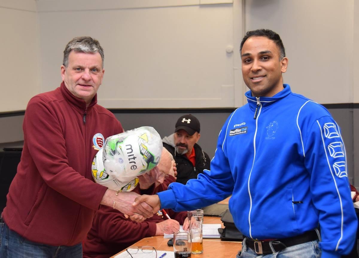 BMFC pick up the EAFL Sportsmanship award for 2018